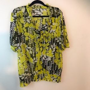 Lane Bryant Sheer Blouse